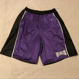 Sacramento Kings Reversible VTG Basketball Shorts